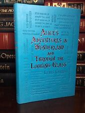 Alice in Wonderland by Lewis Carroll New Illustrated Textured Soft Leather Feel