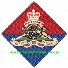 Royal Regiment of New Zealand Artillery badge - EMBROIDERED BIKER PATCH