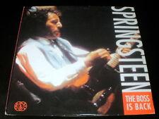 2 LP BRUCE SPRINGSTEEN the boss is back EU 1992 VINYL VINILO DOUBLE LIVE