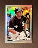 2014 Topps Chrome Jose Abreu RC Rookie Refractor #199 Chicago White Sox