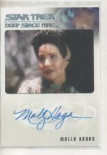 "Star Trek DS9 Heroes/Villains Auto Trading Card Molly Hagan ""Eris"""