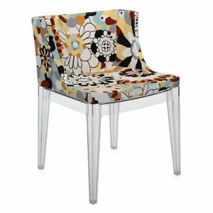 Kartell Mademoiselle Chair in Missoni Fabric in Vevey Burnt Tones