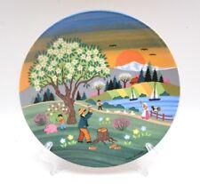 Poole Pottery Collectors Plate  Barbara Furstenhofer Spring 421-1