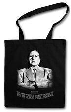 FRANK COSTELLO PORTRAIT Hipster Shopping Bag - Mafia Mob Capone Ganster Boss