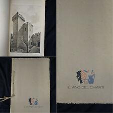 Il vino del Chianti Casa vinicola Barone Ricasoli – brochure