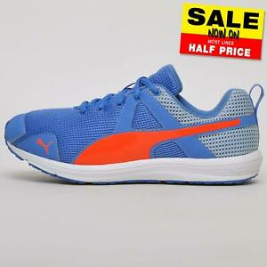 Puma Evader Geo Women's Jogging Training Shoes Fitness Gym Trainers Blue
