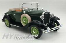 SUNSTAR 1:18 1931 FORD MODEL A ROADSTER DIE-CAST GREEN SS6123