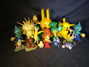 LOT Pokemon Nintendo Figures Vintage New Tomy Burger King