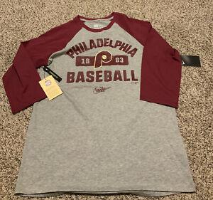 Nike Philadelphia Phillies 2020 Shirt Cooperstown Collection Men's Size: 2XL