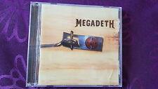 CD Megadeth / Risk - Album 1999