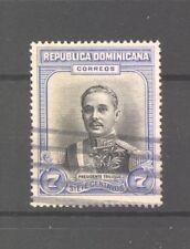 Dominica, 1933 President Trujillo, SG 329: 7c black/blue, fine used