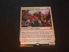 MTG CARTE CONSPIRACY 2 - PROTECTOR OF THE CROWN FOIL NM
