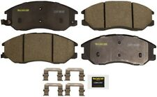 Disc Brake Pad Set-Total Solution Ceramic Brake Pads Front fits 03-04 Kia Sedona