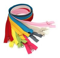 "YKK 60"" #4.5 Handbag Zippers with Extra-Long Pull Slider - Assortment 10 Colors"