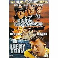 Enemy Below Sink The Bismarck 5039036012089 DVD Region 2 P H