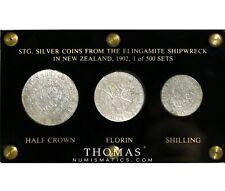 Great-Britain - Presentation 3 pièces - Trésor naufrage shipwreck SS Elingamite