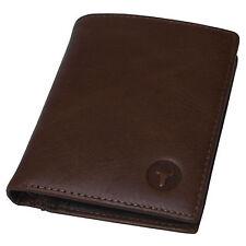 New Men's Leather Wallet Credit Card Purse Vintage Retro Style Blue Mount5302A