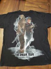 Dream Team Freddy Vs Jason T Shirt Size Xl Nightmare On Elm Street Friday 13th