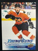 2016-17 Ivan Provorov Young Guns Canvas Rookie