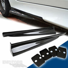 Carbon Fiber Fit For BMW E60 5er 4D Sedan M5 Model Side Skirt Righ Left 06-10