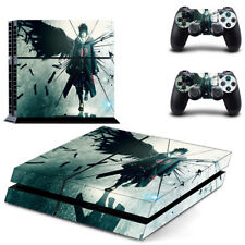 PS4 Skin Sticker Decal Cover 2 Controllers Anime Japan NARUTO UCHIHA 03