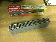 Ho Gauge Box Of Ten Fleischmann Straight Track 6101