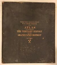 Atlas to Accompany the Tertiary History of the Grand Canyon,Clarence E. Dutton