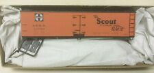 "Santa Fe Railroad 40' Wood Reefer ""THE SCOUT"" 22780 Accurail 48163 HO Kit"