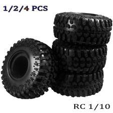 "1-4x 130MM OD Tire Tyre w/ Foam for RC 1/10 2.2"" Wheel Rims Axial Wraith Crawler"
