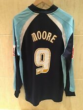 Tranmere Rovers Football Shirt 2008/09 IAN MOORE player issue match worn