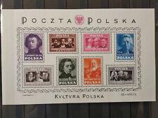 POLAND 1948 R BLOK NR 10 P1 KVLTVRA ZAMIAST KULTURA STAN**