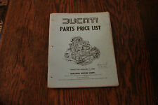 Ducati Parts Price List 1980 berliner bevel squarecase roundcase 900SS 750 SD900