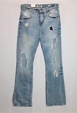 ZARA Designer Blue 70's High Waist Denim Jeans Size 10 BNWT #SD75