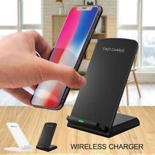 Kabellos Ladegerät Induktionsladegerät Schnelladegerät Samsung S7 S6 Edge S8 +