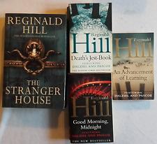4 x Reginald Hill Novels, Fontana Collins Book Bundle.