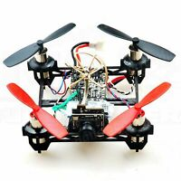 Eachine QX80 80mm Micro Brushed Quadcopter Kit with 2 LiPos, AIO Camera TX 5.8G