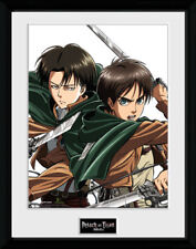Attack On Titan Levi Anime Framed Poster Print Photo 40x30cm   12x16 inches