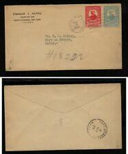Dominican  Republic  1929 cover to  Haiti     JL0922