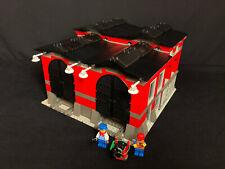 Lego 10027 Train Engine Shed, Lokschuppen, Eisenbahn 9V Zug World City Town