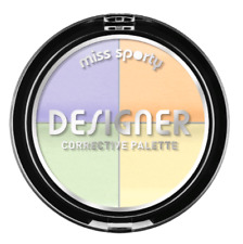Miss Sporty Designer Corrective Palette Anti Redness No Dark Spots Black Circles