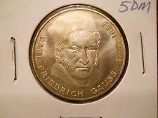 Germany - Federal Republic 5 Mark, 1977, 200th Anniversary - Birth of Carl...
