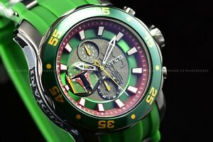 Invicta Mens 48mm Scuba Star Wars Limited Edition Green BOBA Fett Chrono Watch