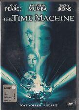 THE TIME MACHINE (2001) DVD - EX NOLEGGIO