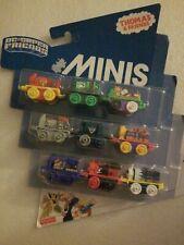 NIP Thomas & Friends Minis DC Super Friends Lot of two (2) 9 Packs ~ 18 trains!