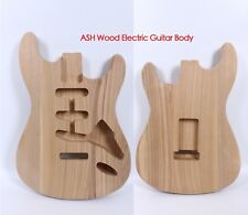 Strat Electric guitar body Replacement ASH wood Guitar Accessories SSS Style