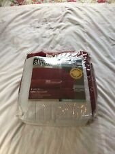 Maytex 2 Peice Sofa Slip Cover Burgundy/French Red NWT