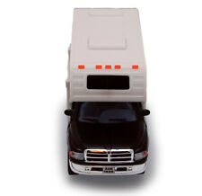 1999 Dodge Ram 1500 Pickup Truck Camper / RV 1:46 Scale Diecast Model Black