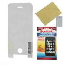 SCREEN PROTECTOR - iPHONE 3G / 3GS with Fiber Cloth and Scraper