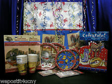 Cowboy Cowgirl Party Set # 15 Party Pieces Centerpiece Edible Image For 16