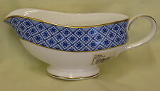 NEW Waterford Fitzpatrick Blue Gravy / Sauce Boat - Made in UK Best Quality.